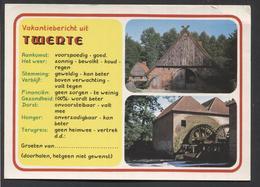 Vakantie Bericht Uit Twente. -  NOT  Used - See The 2 Scans For Condition.(Originalscan ) - Nederland