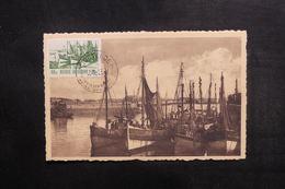 BELGIQUE - Carte Maximum - Barques De Pêche - L 38333 - Maximum Cards
