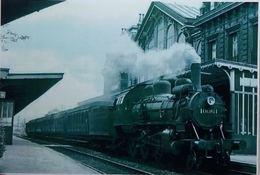 Huy Nord La Gare Train 40.061 (Reproduction - Photo) - Hoei
