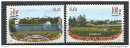 Islande 2014, Série N°1358/1359 Neuve  Parcs Avec Sepac - Nuovi