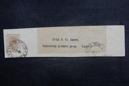 ROUMANIE - Entier Postal ( Bande Journal ) De Bucarest - L 38341 - Entiers Postaux
