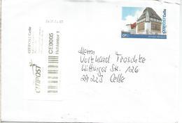 ALEMANIA 2015 CORREO PRIVADO CITIPOST CELLE SELLO BOMANN MUSEUM ARTE - Private & Local Mails