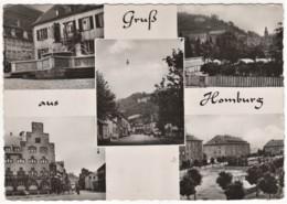 Homburg Saar Pfalz - S/w Mehrbildkarte 1 - Saarpfalz-Kreis