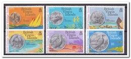Britse Maagdeneilanden 1973, Postfris MNH, Birds, Coins - Britse Maagdeneilanden