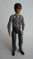 FIGURINE HARRY POTTER DUELLING Mattel 2003 14cm Sans BAGUETTE (2) - Harry Potter