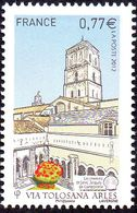 France Architecture N° 4644 ** Site - Les Chemins De Saint Jacques De Compostelle - Via Tolosana - Arles - Eglises Et Cathédrales