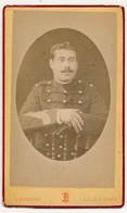 FRANCE - Photographie CDV - Militaire - L. Frobert / Lille & Ypres - Guerra, Militares