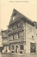 - Finistère -ref-E293- Carhaix - Vieille Maison De La Rue Brizeux - Batiments Et Architecture - Carte Bon Etat - - Carhaix-Plouguer