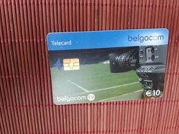 Phonecard Sport Footbal 10 Euro Low Issue Used Rare - Belgien
