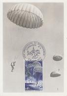 Carte Maximum  FRANCE   XXVéme   Anniversaire  Du   Débarquement   Commando  N° 4   OUISTREHAM   1969 - 1960-69