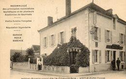"""- ARCY Sur Cure -  Hôtel Restaurant De La Chaumière """"Royer""""  (animée)    -7787- - Other Municipalities"""