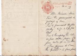 1909 St. JAN'S GASTHUIS BRUGGE PHARMACIE AU COUVENT BRUGES - Bélgica
