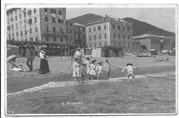 Varazze (Savona). Spiaggia. - Savona