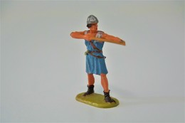 Elastolin, Lineol Hauser, H=40mm, Norman, Plastic - Vintage Toy Soldier FOR PARTS OR REPAIR - Small Figures