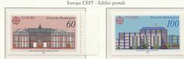 PIA - GERMANIA - 1990 : Europa - Edifici Postali Di Ieri E Di Oggi - (Yv  1293-94) - Europa-CEPT