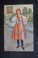 TCHÉCOSLOVAQUIE - Oblitération Temporaire En 1936 Sur Carte Postale Costume Régional - L 38354 - Czechoslovakia