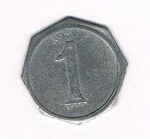 // OUDE  JETON  1  CENTIME ? - Monedas / De Necesidad