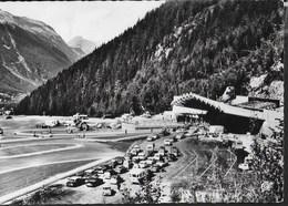 TRAFORO DEL MONTE BIANCO - VERSANTE FRANCESE -VIAGGIATA 1966 FRANCOBOLLO ASPORTATO - Dogana