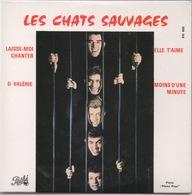"""Les Chats Sauvages : 4 Titres Y Compris """"She Loves You"""" Des Beatles, """"Elle T'Aime"""" En Français - Rock"""