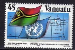 VANUATU N° 726 XX 4ème Anniversaire De L'admission De Vanuatu Aux Nations Unies Sans Charnière TB - Vanuatu (1980-...)