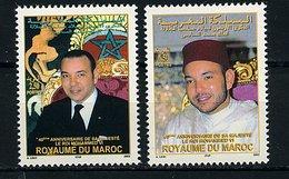 Maroc ** N° 1331/1332 - Le Roi Mohammed VI - Morocco (1956-...)