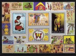 VANUATU  B.F. N° 2 XX  Noël,  Le Bloc Sans Charnière TB - Vanuatu (1980-...)