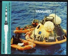 VANUATU  B.F. N° 13  XX  20ème Anniversaire De L'homme Sur La Lune,  Le Bloc Sans Charnière TB - Vanuatu (1980-...)