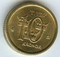 Suède Sweden 10 Kronor 2007 SI KM 895 - Schweden