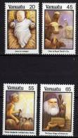 VANUATU N° 788 / 91 XX  Noël La Série Des 4 Valeurs  Sans Charnière TB - Vanuatu (1980-...)