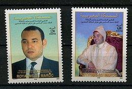 Maroc ** N° 1354/1355 - Le Roi Mohammed VI - Morocco (1956-...)