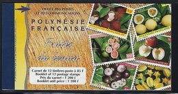 "Polynésie Carnet YT C590-1 "" Fruits Du Funéa "" 1999 Neuf** - Carnets"