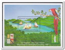Britse Maagdeneilanden 1991, Postfris MNH, Birds, Ships - Britse Maagdeneilanden