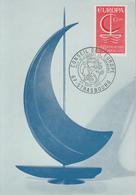 Carte  Maximum    1er  Jour    FRANCE      EUROPA        STRASBOURG   1966 - Europa-CEPT