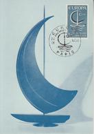 Carte  Maximum    1er  Jour    FRANCE      EUROPA        PARIS    1966 - Europa-CEPT