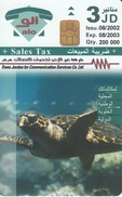 JORDAN - Sea Turtle, Nature In Jordan, 08/02, Sample No CN - Giordania