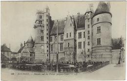 18 Bourges  Facade Sud Du Palais Jacques Coeur - Bourges