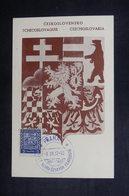 TCHÉCOSLOVAQUIE - Oblitération Temporaire De Praha Sur Carte Postale En 1937 - L 38366 - Czechoslovakia