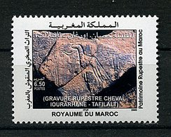 Maroc ** N° 1372 - Patrimoine Rupestre - Marruecos (1956-...)