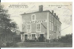 SAINT-GEORGES-D'AURAC    (  HAUTE LOIRE  )  HÔTEL ET BUFFET DE LA GARE - France