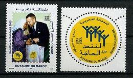 Maroc ** N° 1378/1379 - Semaaine De La Solidarité - Morocco (1956-...)