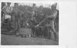 Ypern Ypres Ieper Zonnebeke Duitse Militairen Verlorenhoek  Lager  Bier Die Helden 12./245  WOI  Fotokaart  1915  L 488 - Guerre 1914-18