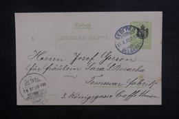 SERBIE - Entier Postal De Belgrade En 1903 - L 38370 - Serbie