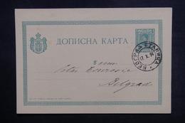 SERBIE - Entier Postal De Belgrade En 1894 - L 38371 - Serbie