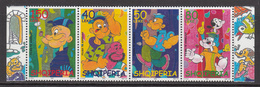 2003 Albania Albanie Popeye Cartoon Animation Strip Of 4 MNH - Albanien