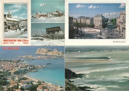 Lot De 100 Cartes (cpm Couleur)---villes Et Villages De France--(pas De Lourdes--paris) - 100 - 499 Postcards