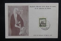 VATICAN - Carte Souvenir En 1940 - L 38373 - Vatican