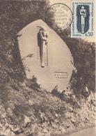 Carte  Maximum  1er  Jour    FRANCE    A  La  Mémoire  Des  Résistants  Du  VERCORS   1962 - Cartes-Maximum