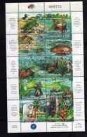 VENEZUELA 1998 EXPO 98 FAUNA ANIMALS LISBOA BLOCK SHEET BLOCCO FOGLIETTO BLOC FEUILLET MNH - Venezuela