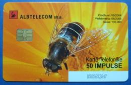 Albania Chip Phone Cards. Operator Albtelecom. BEE - Albanië