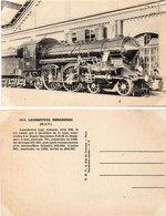 1814 Locomotives Hongroises (M.A.V.)  Type Atlantic      (115365) - Eisenbahnen